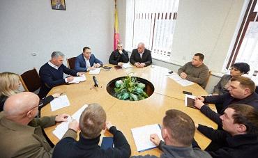 Мэр г. Каменского встретился с активистами, Андрея Белоусова с активистами ОО «Патриот 2015»