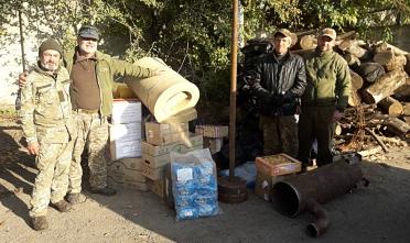 допомога армій, Кам'янське, волонтерська допомога.