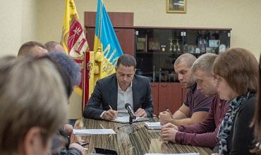 представники місії ОБСЄ, потреби соціально-побутової сфери, 28 жовтня, Кам'янський міський голова