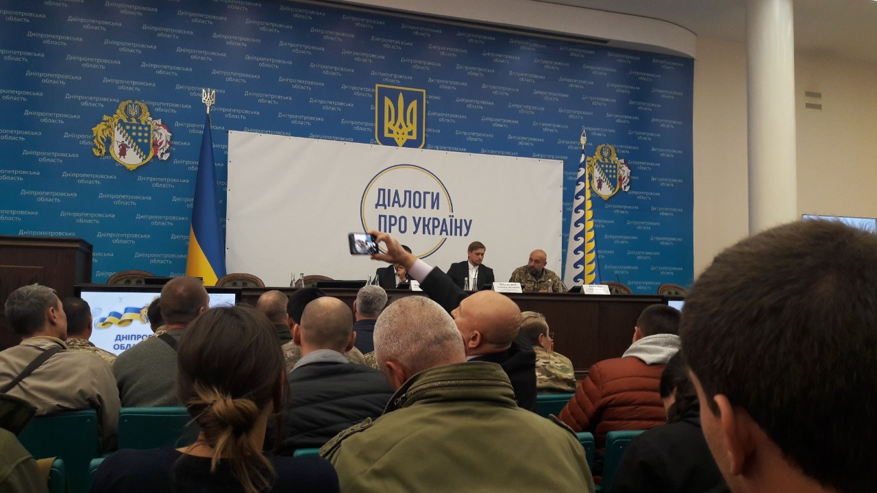 Дніпропетровської ОДА, Олександр Бондаренко, Раду ветеранів антитерористичної операції створять