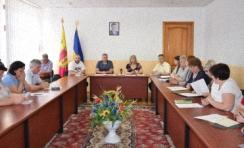 Встреча с чиновниками города Татьяна Завгородняя в Каменском обсудили проблемы участников АТО